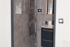 mur en stuc salle de bain
