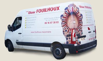 Maçonnerie générale olivier Fouilhoux à Coudes près d'Issoire